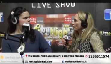 Intervista alla Dott.sa Maria Novella Tacci su RadioRadio By Night