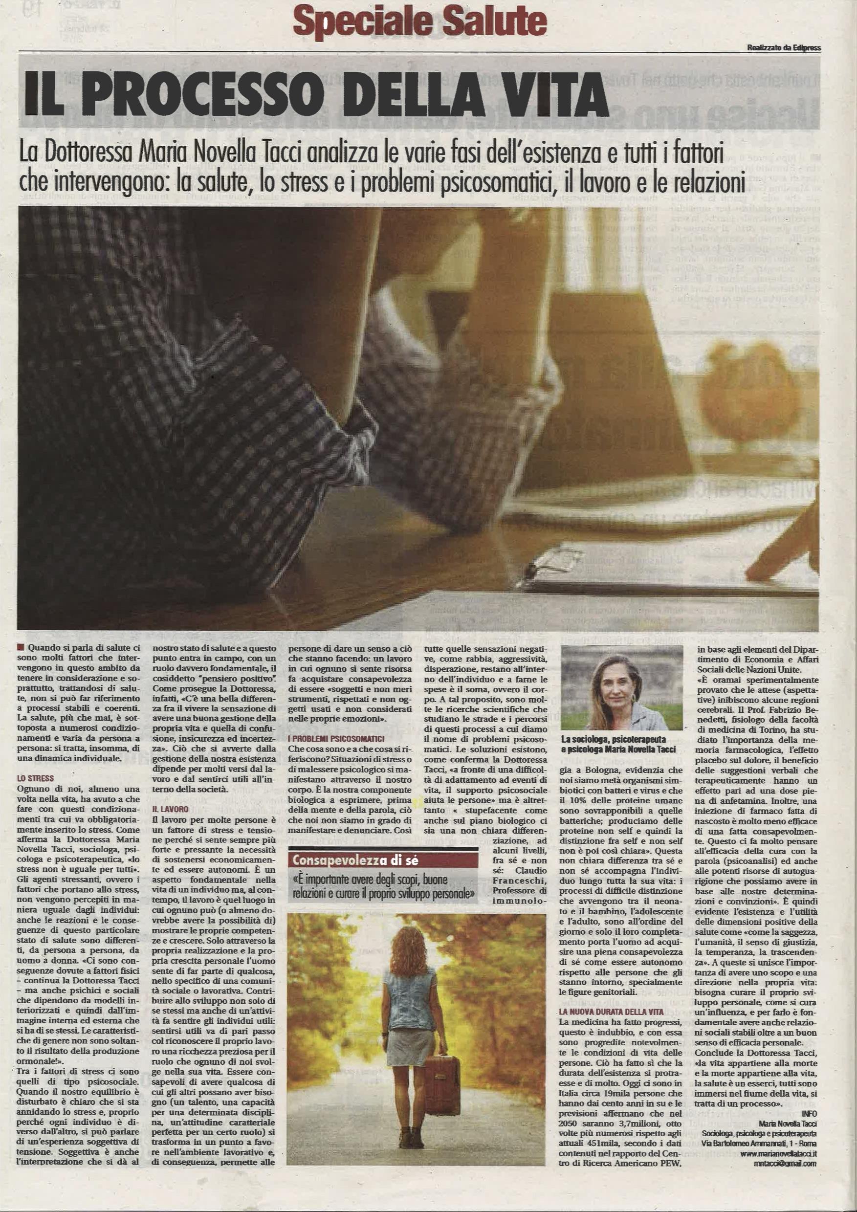 Maria Novella Tacci Il Tempo